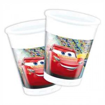 Cars 3 Partybecher Plastik 200ml 8er