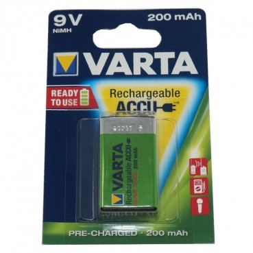 Varta Recharge Accu Power 9V-Block NiMH