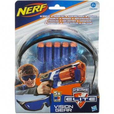 Nerf N-Strike Elite Brille + 5 Darts - Hasbro