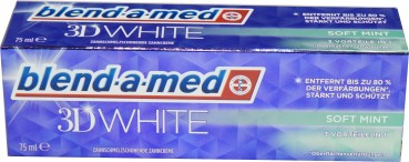 blend-a-med 3D White 3in1 Zahncreme 75ml