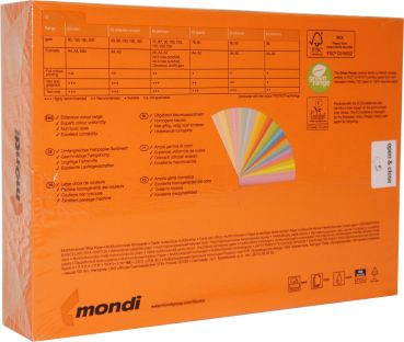 IQ Kopierpapier Intensiv A4 160 g/qm Orange