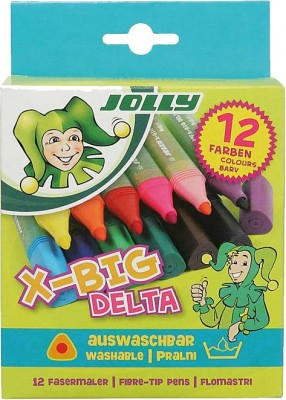JOLLY X-BIG Delta 12er Fasermaler
