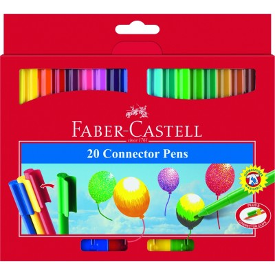 Faber Castell Connector Pen 20er Etui