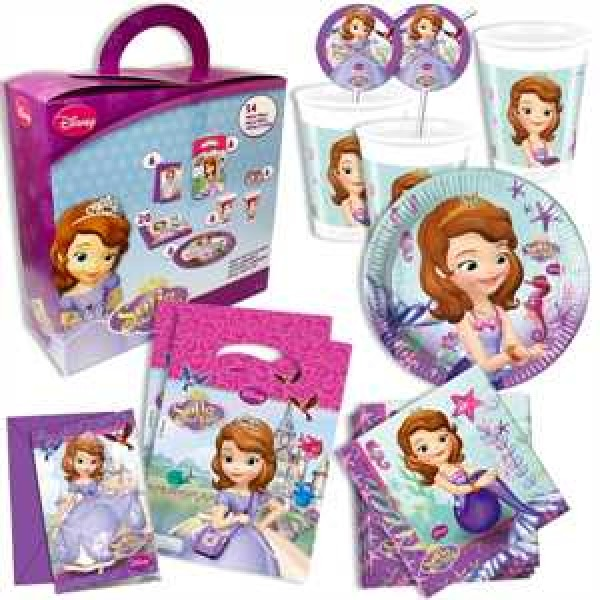 Partykoffer Sofia the 1st 54-teilig