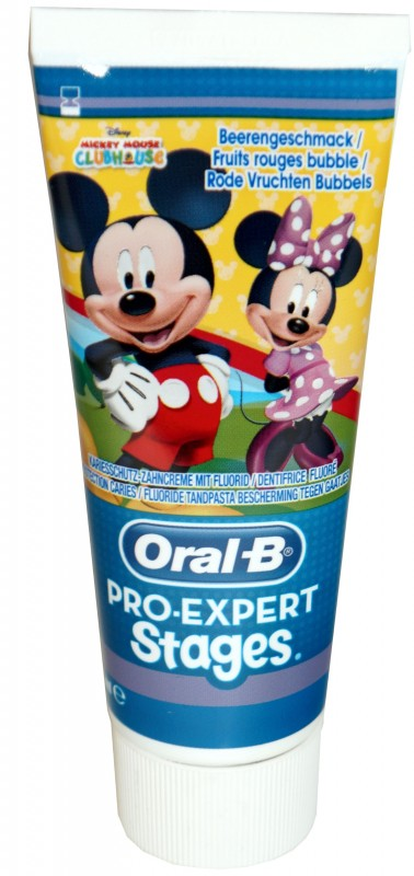 Oral-B Pro-Expert Stages Mickey Mouse 75ml