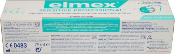 elmex sensitive Professional Zahncreme