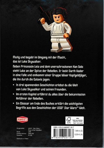 LEGO® Star Wars™ Buch - Luke Skywalker, Held der Rebelle