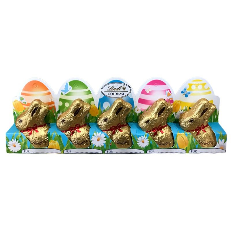 Lindt Mini Goldhase 5 x 10 g