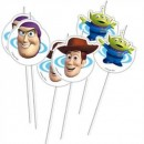 Toy Story 3 Trinkhalme 6er Packung 24 cm