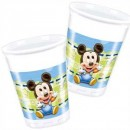 Baby Mickey Partybecher Plastik 8er 200ml