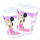 Baby Minnie Partybecher Plastik 200ml 8er