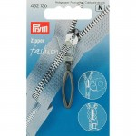 Prym Fashion-Zipper Loop-Zupfer brüniert
