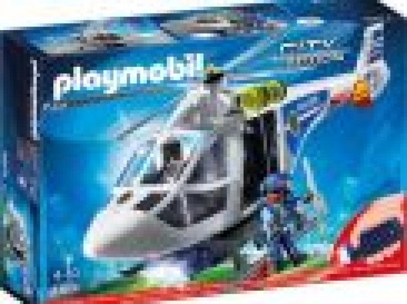 PLAYMOBIL® 6874 Polizei-Helikopter mit Led