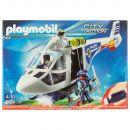 Playmobil Polizei-Helikopter mit Led 6874