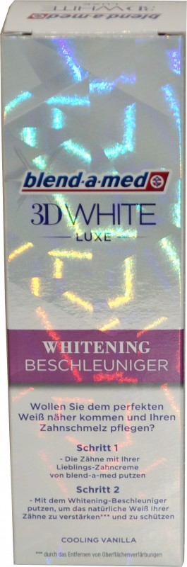 blend-a-med 3D White Luxe Zahncreme 75ml