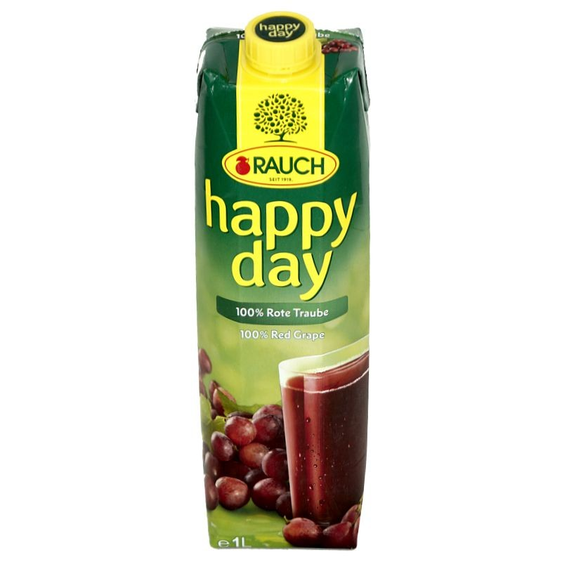 Rauch Happy Day Rote Traube 1l
