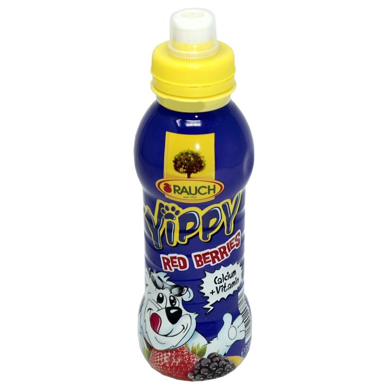 Rauch Yippy Red Berries Kindergetränk 330ml